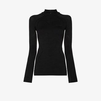 Falke Tech long sleeve zip top