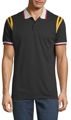 American Stitch Short-Sleeve Polo