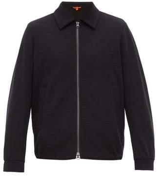 Barena Venezia - Olivio Wool Blend Zip Through Jacket - Mens - Navy