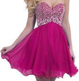 VILAVI Women's A-line Sweetheart 2015 Short Homecoming Dresses 2P