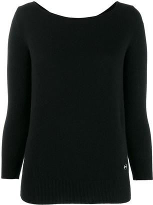 Emilio Pucci boat neck cashmere jumper