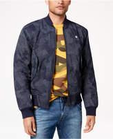G Star Men's Rackam Pixelated Camouflage-Print Bomber Jacket, Created for Macy's
