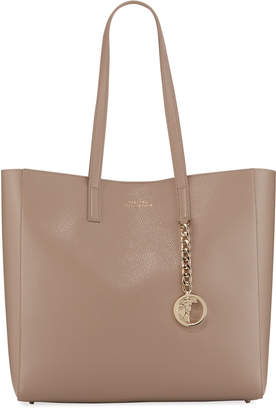 Versace Saffiano Large Tote Bag, Sand