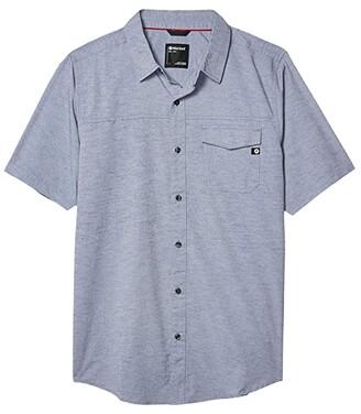 Marmot Tumalo Short Sleeve Shirt (Arctic Navy) Men's Short Sleeve Button Up