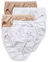 Hanes 5-pk. Ultimate Cotton High-Cut Panties - 43KS