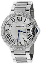 Cartier Ballon Bleu de W69011Z4 Stainless Steel 37mm Unisex Watch