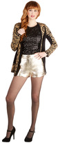 Darling Day Away Shorts in Gold