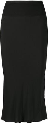 Rick Owens Performa knee-length crepe skirt