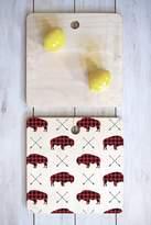 Deny Designs Little Arrow Design Co Plaid Buffalo & Arrows Cutting Board