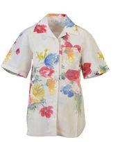 Celine Multicolour Flower Linen Shirt