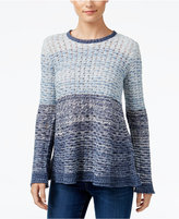 Style&Co. Style & Co. Colorblocked Sweater, Only at Macy's