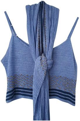La Perla Blue Knitwear for Women
