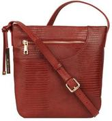 Wilsons Leather Womens Annabelle Embossed Leather Crossbody
