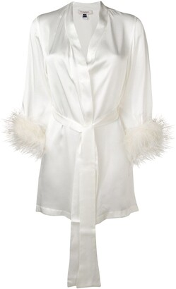 Gilda and Pearl Mia satin robe