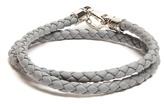 Tod's Mycolours woven-leather bracelet