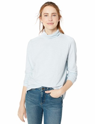 Goodthreads Amazon Brand Women's Vintage Cotton Turtleneck T-Shirt