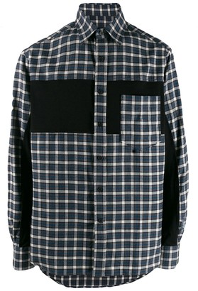 Lanvin Plaid Contrast Shirt