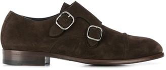 Ermenegildo Zegna Buckle-Fastening Oxford Shoes