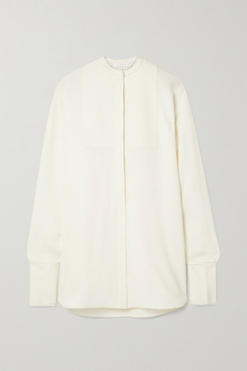 Peter Do Oversized Silk-blend Crepe Shirt - Ivory