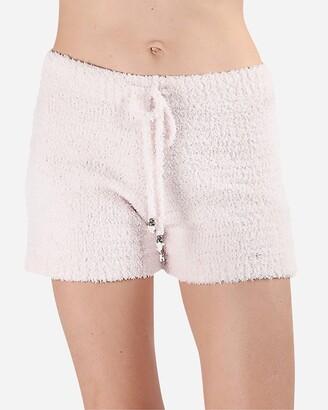 Express Memoi Cozy Knit Short