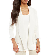 Eileen Fisher Angle Front Jacket