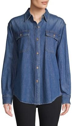 Vince Chambray Long-Sleeve Shirt