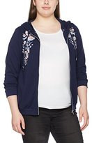 Evans Women's Floral Embroidered Hoodie