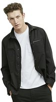 Kenneth Cole New York Kenneth Cole Men's Wool Shirt Jacket