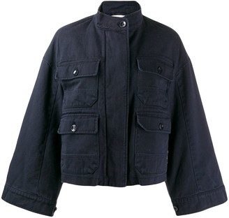 Closed Wide Sleeve Jacket