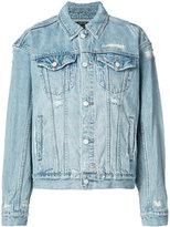 Ksubi distressed denim jacket - women - Cotton - M