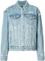 Ksubi distressed denim jacket - women - Cotton - S