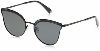 Polaroid Women's Pld 4056/s 2006342O558M9 ado Oval Sunglasses 58 mm
