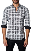 Jared Lang Illustration Cotton Sportshirt