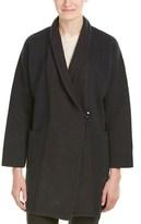 Armani Collezioni Wool Topcoat.