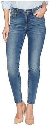 Lucky Brand Ava Mid-Rise Super Skinny Jeans in Waterloo (Waterloo) Women's Jeans