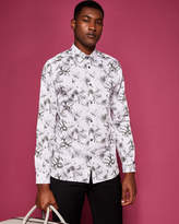 Ted Baker Statement floral print cotton shirt