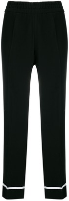 Cambio Contrasting Strap Trousers