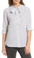 AG Jeans Women's Claire Stripe Silk Shirt