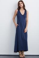 Rikera Cotton Slub Maxi Dress
