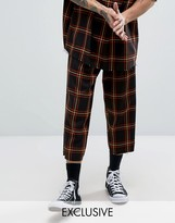 Reclaimed Vintage Inspired Relaxed Pants In Check
