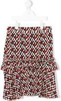 Marni graphic print skirt