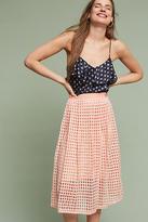 Blank Graphique Midi Skirt