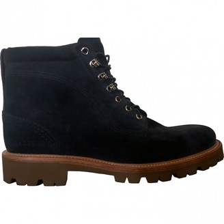 Bally Blue Suede Boots