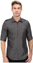 Calvin Klein Long Sleeve Roll Tab Chambray Shirt