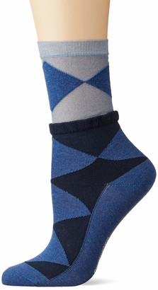 Burlington Women's Chic Argyle Calf Socks