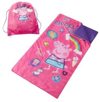Peppa Pig Sleeping Bag with Bonus Sling Bag