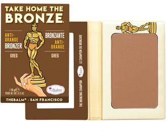 TheBalm Take Home The Bronze Anti-Orange Bronzer 7.08g Greg (Dark)
