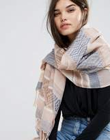 Pieces Scarf in Pastel