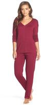 Josie Brushed Jersey Pajama Set
