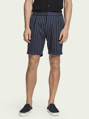 Scotch & Soda Sporty pinstripe suit shorts | Men